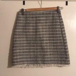 Tweed Mini Skirt from LOFT 00P